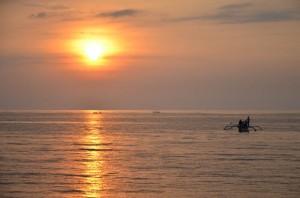 Sonnenuntergang in Lovina